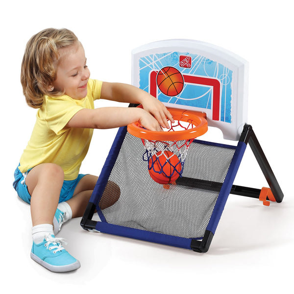 Step2® 735299 Floor To Door 2-In-1 Kids Basketball Hoop