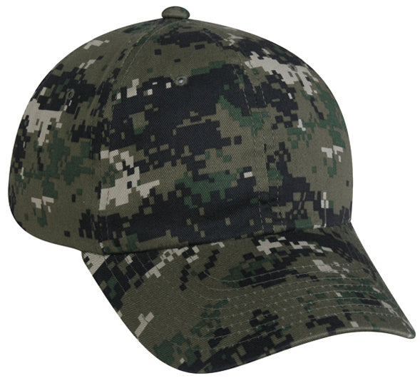 Outdoor Cap DC-660-OLV Unstructured Digital Camouflage Hat, Mossy