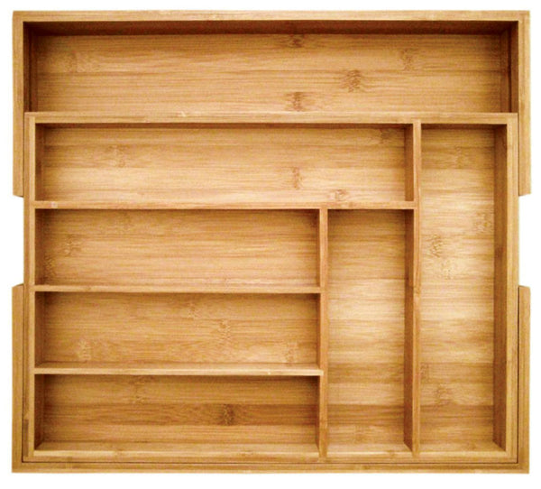 Totally Bamboo 20-2043 Expandable Utility Drawer Organizer