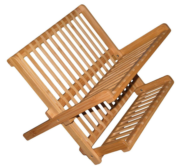 Totally Bamboo 20-8517 Compact Dish Rack