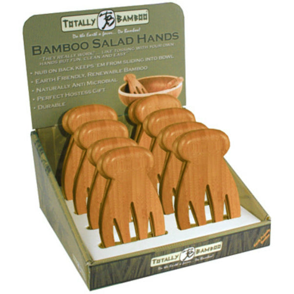 Totally Bamboo 20-2054 Salad Hands, 2-Piece