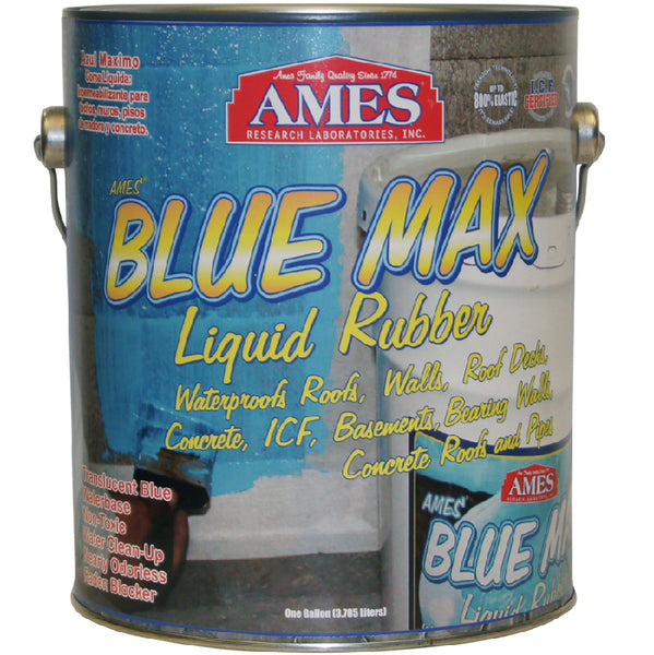 Ames® Research BMX1RG Regular Grade Blue Max™ Liquid Rubber, 1 Gallon