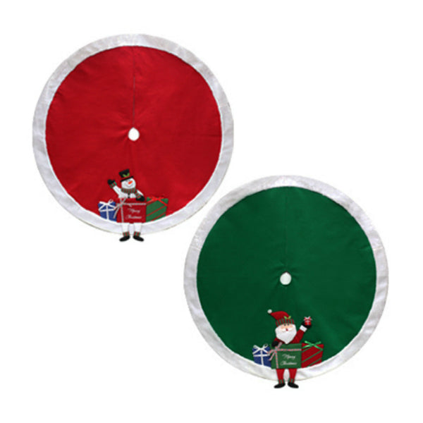 Dyno Seasonal Solutions 2484803CC Felt Tree Skirt with Characters, 48""