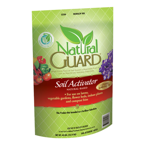 Natural Guard 40525 Soil Activator, 40 Lb