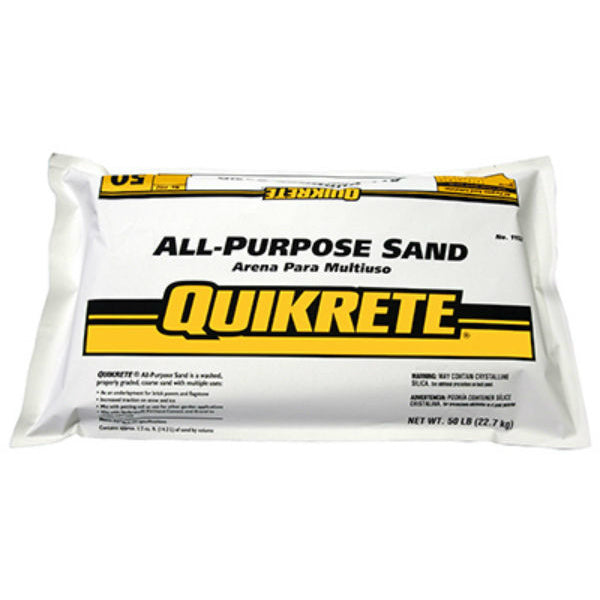 Quikrete® 1152-51 All-Purpose Sand, 50 Lbs