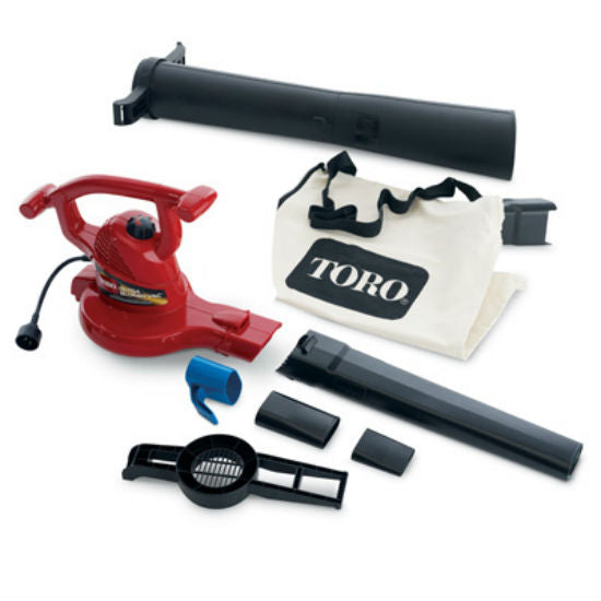 Toro® 51619 Electric Ultra Blower Vacuum, 250 Mph Air Velocity