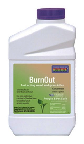 Bonide 7465 Burn Out Weed & Grass Killer Concentrate, 1-Gallon