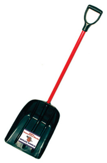"Bully Tools 92400 Poly Mulch/Snow Scoop, 15"" Wide"