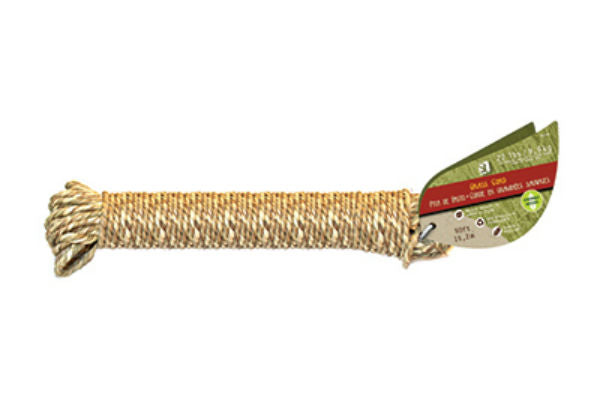 Wellington™ GC1850 Biodegradable Natural Grass Cord, 50'