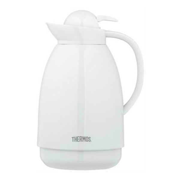 Thermos® 710TRI4 Insulated Carafe, White Finish, 34 Oz
