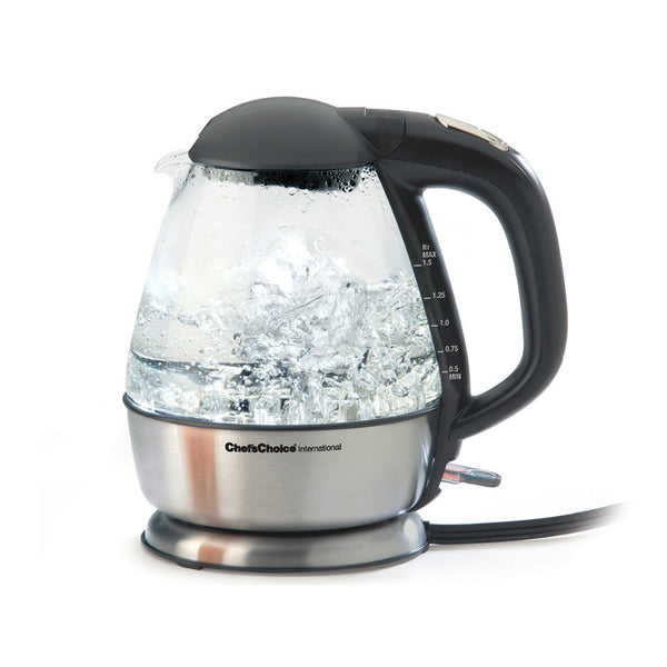 Chef's Choice® 6800001 Cordless Electric Glass Kettle, 1.5 Quart