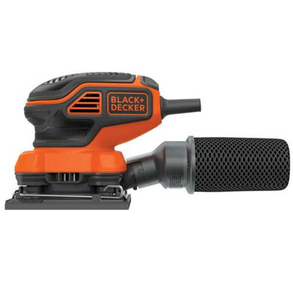 "Black & Decker® BDEQS300 Sheet Finish Sander, 1/4"", 2 Amp"