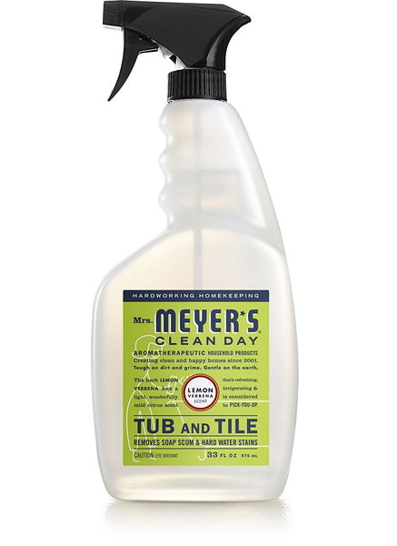 Mrs Meyer's Clean Day 12168 Foaming Trigger Tub & Tile Cleaner, Lemon Verbena
