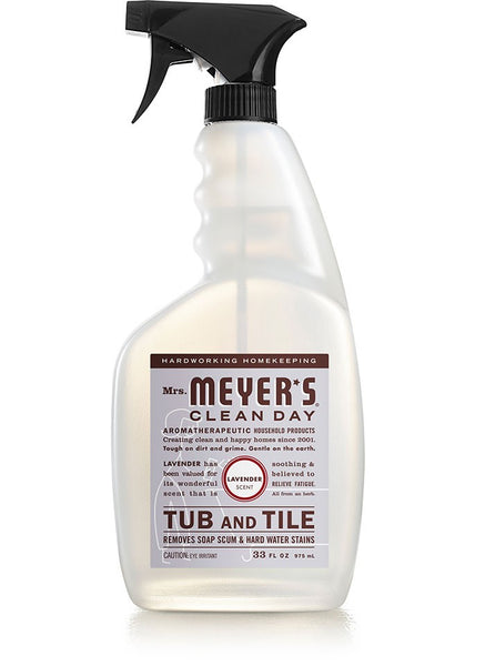 Mrs Meyer's Clean Day 11168 Foaming Trigger Tub & Tile Cleaner, Lavender Scent