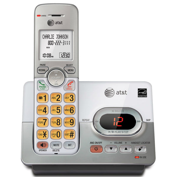 AT&T® EL52103 Cordless Phone System with Caller ID/Call Waiting