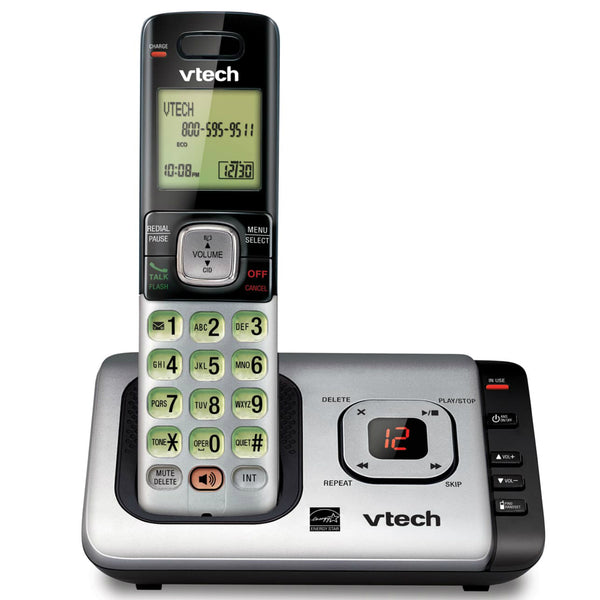 Vtech® CS6729 Cordless Answering System with Caller ID/Call Waiting