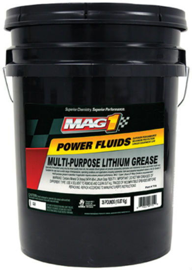 Mag1 MG610035 Power Fluids Multi-Purpose Lithium Grease, 35 Lbs