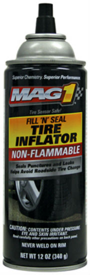 Mag1 MG730421 Non-Flammable Fill 'N Seal Tire Inflator Cone, 12 Oz