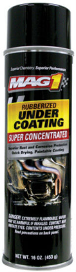 Mag1 MG740432 Rubberized Under Coating, 16 Oz, Super-Concentrated