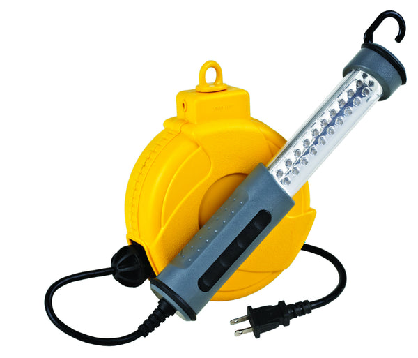 Alert Stamping 920LSM Cord Reel Work Light, 18 LED
