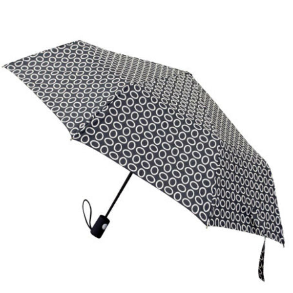 "SkyTech® RT-852 Automatic Super Mini Umbrella, Assorted Print, 42"" Coverage"