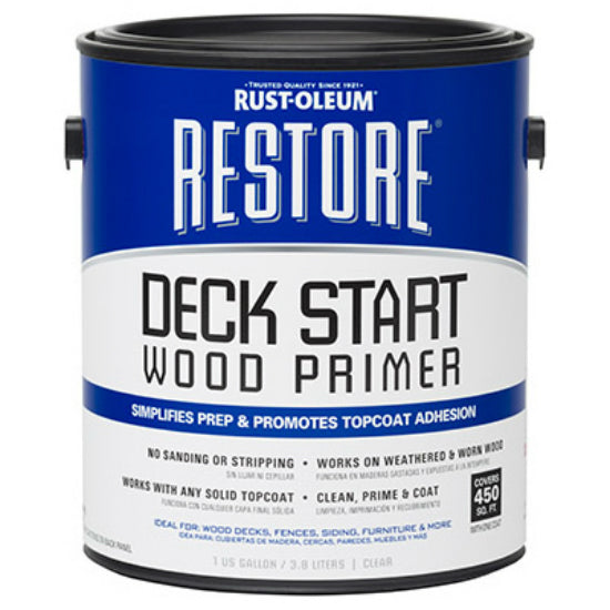 Rust-Oleum® 287517 Restore® Deck Start Wood Primer, 1 Gallon
