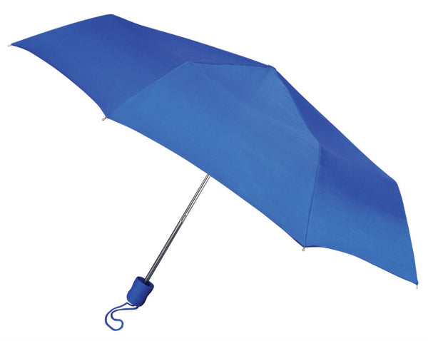 "WeatherZone® 811 Manual Super Mini Umbrella, Assorted Colors, 42"" Coverage"