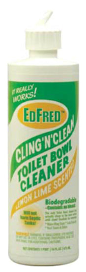 Edfred 63846 Cling N Clean Toilet Bowl Cleaner, 16 Oz