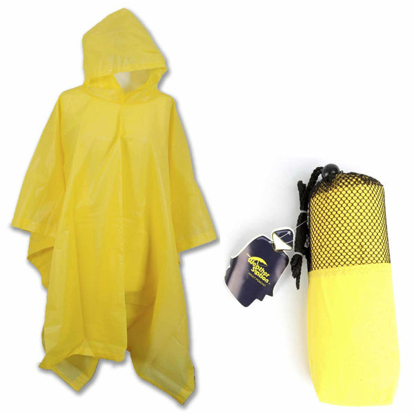 WeatherStation® 3100 Adult Poncho with Side Snaps & Hood, Assorted Colors