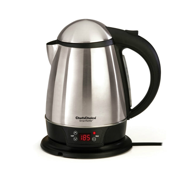 Chef's Choice® 6880001 International™ SmartKettle® Cordless Electric Kettle, 1-3/4 Qt