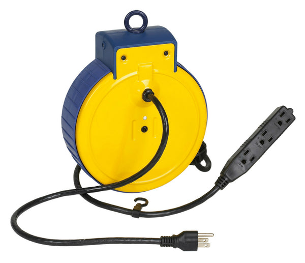 Alert Stamping 3225ATC Retractable Extension Cord Reel, 25'