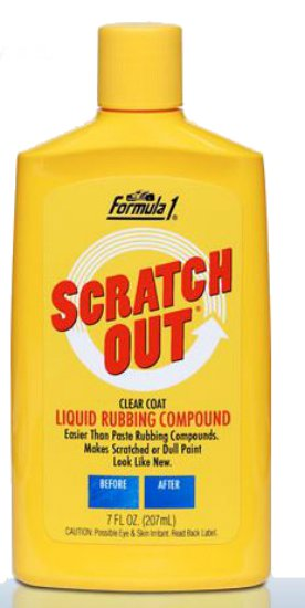 Formula-1 F1614955 Scratch Out Scratch & Swirl Remover, 7 Oz