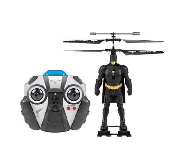 World Tech Toys 33711 Batman DC Comic Laser License IR Helicopter, 3.5 Channel