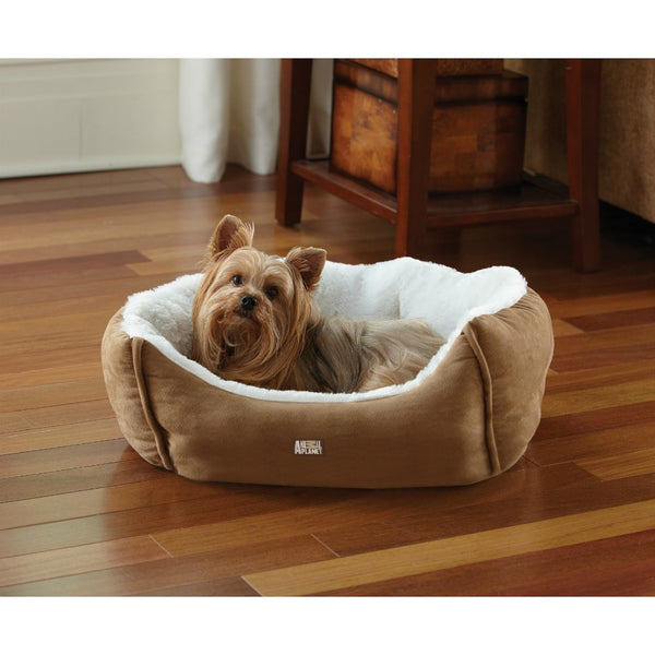 Animal Planet™ 1647715 Micro Suede Plush Pet Bed, Assorted Colors, Small