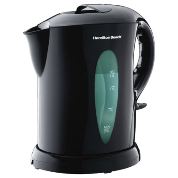 Hamilton Beach® K6080 Large Cordless Kettle, 1.8 Liter, Black