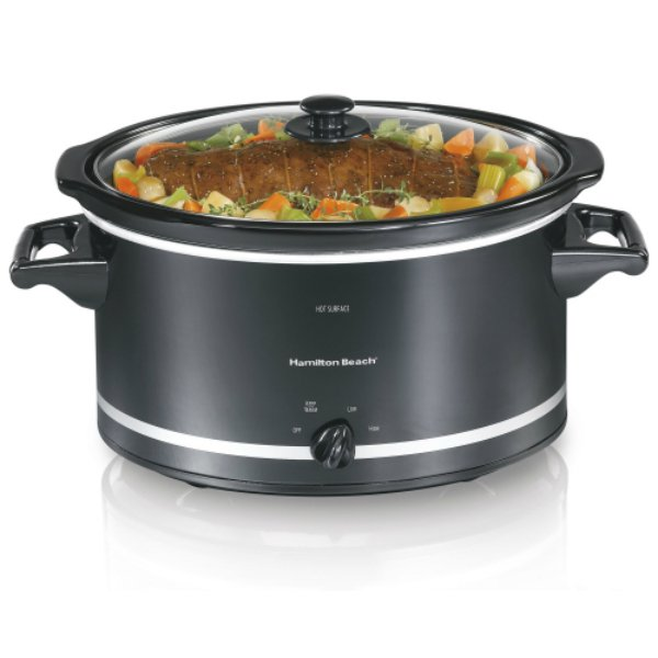 Hamilton Beach® 33182 Oval Slow Cooker, 8 Quart