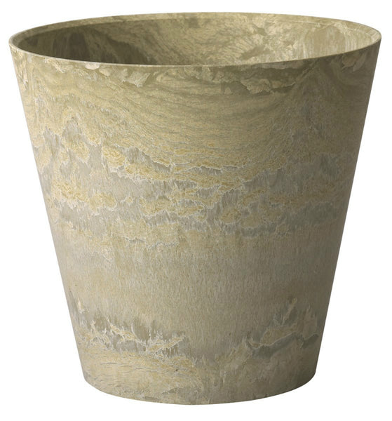 "Novelty 08101 Round Napa Planter, 10"", Sage"