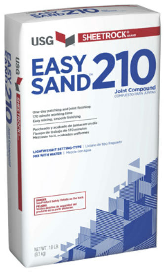 Sheetrock® 384212 Easy Sand™ 210 Joint Compound, 18 Lbs