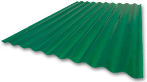 "Crane Composites C25SF.340 Sequentia® Heavy-Duty FRP Panel, Green, 26"" x 12'"