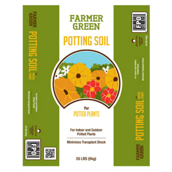 Farmer Green® 20LBPSFG General Potting Soil, 20 Lbs