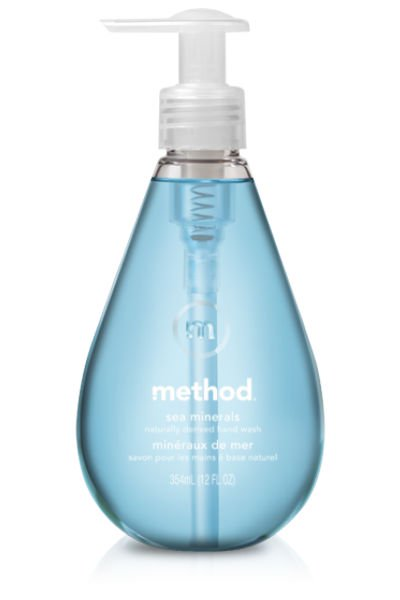 Method® 01622 Gel Hand Wash, Sea Minerals, 12 Oz