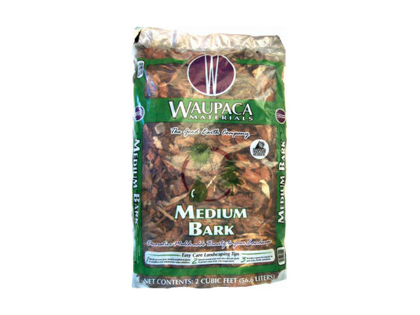 Waupaca Northwoods WWM03212 Decorative Medium Bark, 2 CUFT