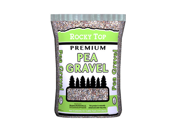Waupaca Northwoods WRT00023-RDC26 Pea Gravel Decorative Stone, 0.5 CUFT