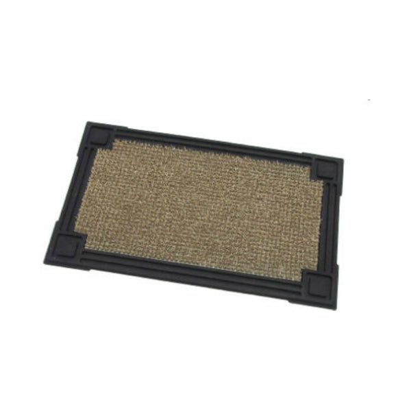 "GrassWorx™ 10372040 Premium Capitol Clean Machine Scraper Mat,Earth Taupe,18""x30"""
