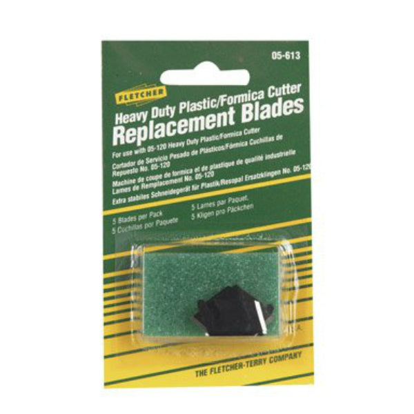 Fletcher 05-613 Replacement Cutter Blades for #05-120, 5-Pack