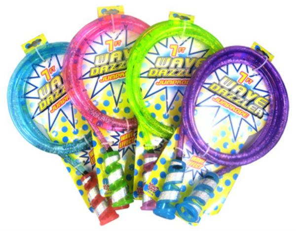Maui Toys 33088-MT Wave Dazzler Water Filled Jump Rope, Assorted Colors, 7'