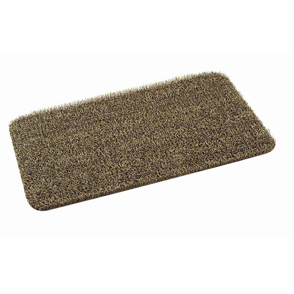 "GrassWorx™ 10371857 High Traffic Classic Clean Machine Scraper Mat,Taupe,18""x30"""
