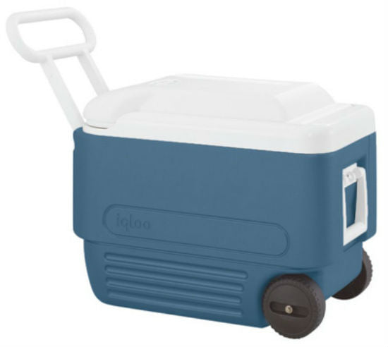 Igloo® 34061 MaxCold® Wheeled Ice Chest, 40 Roller, 40 Quart
