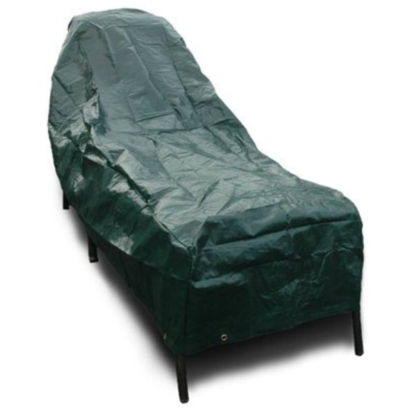 Budge P2A02ST1-N Polyethylene Good Grade Chaise Lounge Cover, Hunter Green