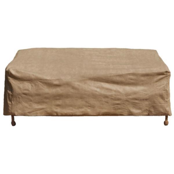 Budge P3W06SFRC-N Loveseat Cover w/ 3-Layer Polypropylene Protection, Tan, Large